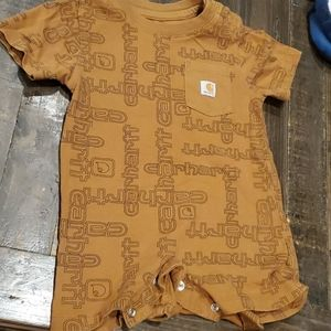 Carhart onsie size 12months
